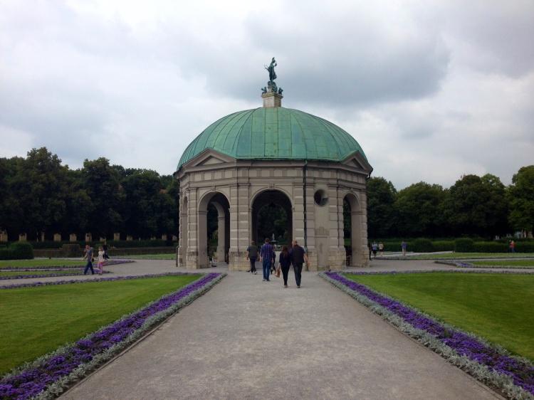 Munich's Hofgarten.